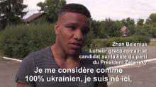Zhan Beleniuk, le lutteur métisse qui veut combattre la discrimination en Ukraine