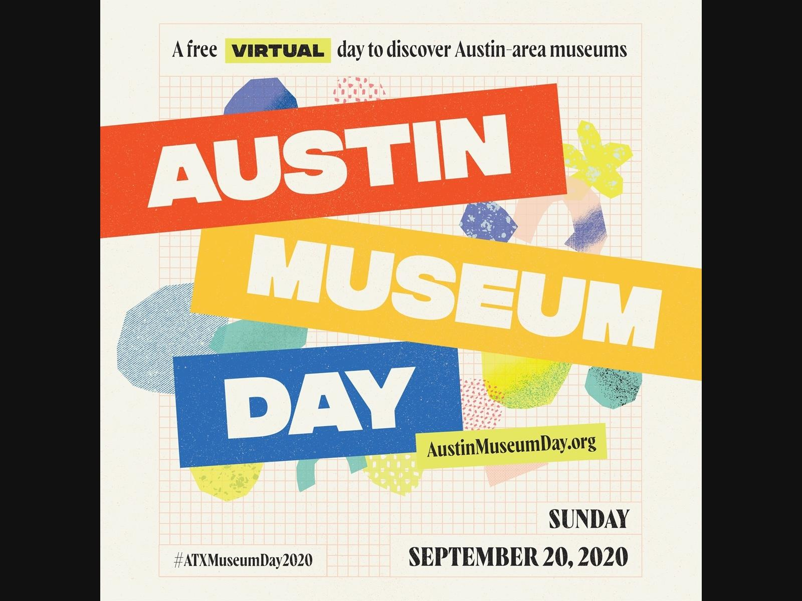 Austin Museum Day 2020, Sunday, Sept. 20 from 9 a.m. - 5 p.m.