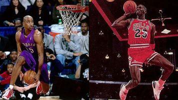 Carter's tribute to Jordan at 2003 All-Star Game