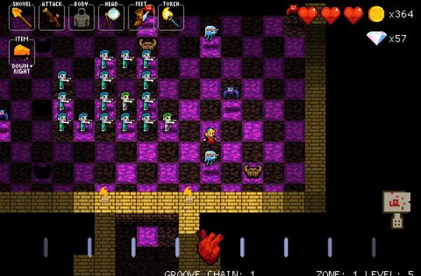 Crypt of the NecroDancer boogies on Early Access July 30