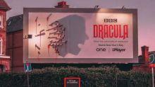 La BBC triunfa con su terrorífica valla para promocionar Drácula