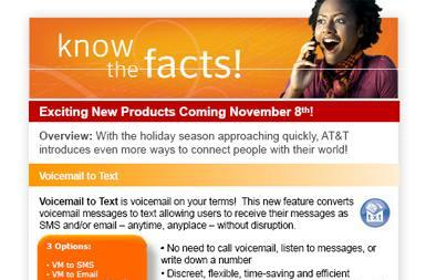 AT&T launching voicemail-to-text service, new Mobile TV stations, Canada plans next week