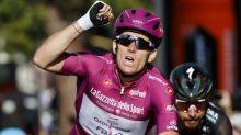 Tour d'Italie: Démare, euphorique, pour un troisième succès