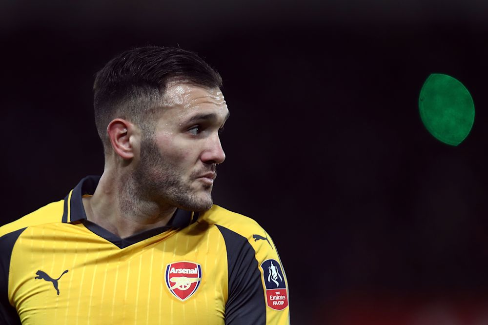 Arsenal forward Lucas Perez ruled out for three weeks
