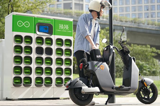 Gogoro battery-swapping expansion to China