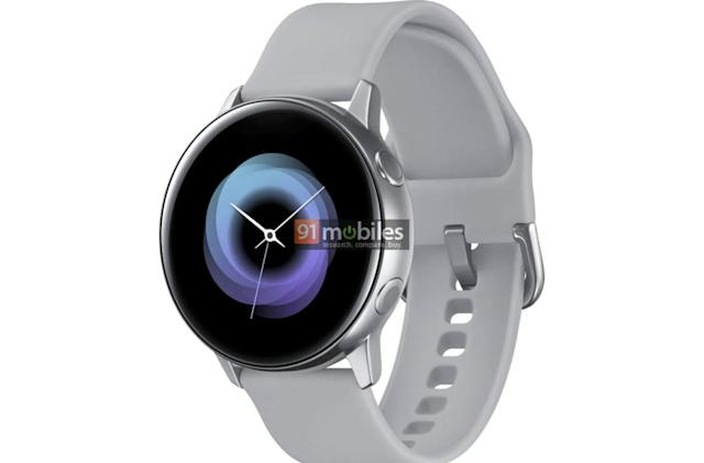 Samsung's rumored Galaxy Sport watch might ditch the rotating bezel