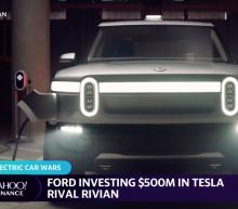 Ford investing $500M in Tesla rival Rivian