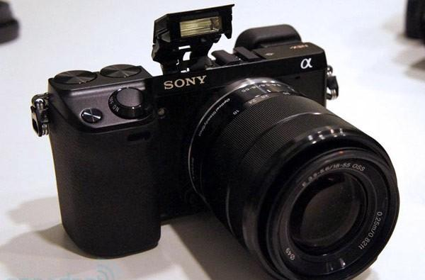 Sony Alpha NEX-7 emerges from the waters, ready for action