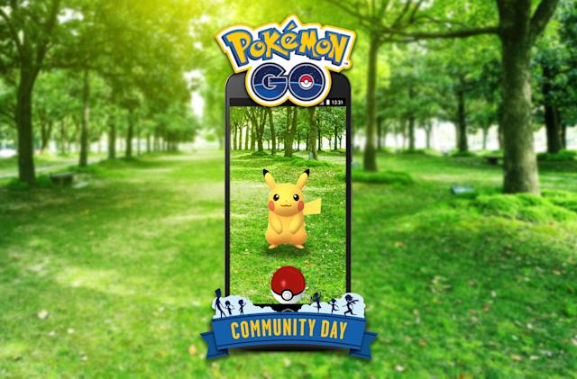 'Pokémon Go' Community Days bring exclusive captures every month
