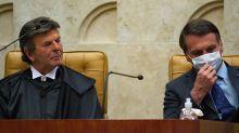 Em seu 1º mês à frente do STF, Fux dá sinais de que não terá proximidade de Bolsonaro como Toffoli