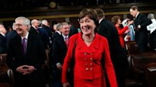 Senator Susan Collins Gambles Her 'Moderate' Reputation On Impeachment Vote