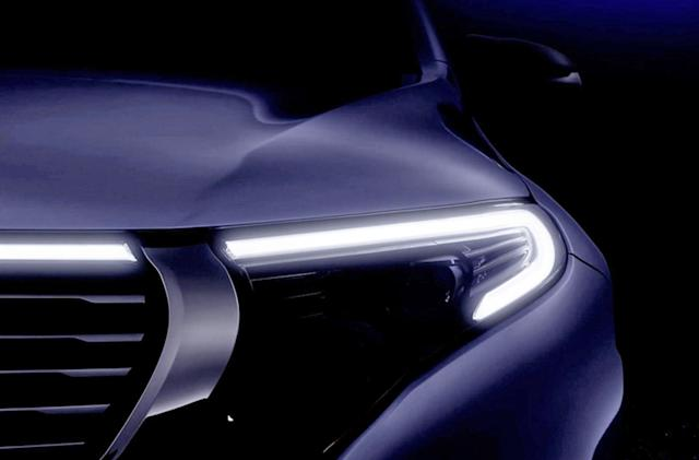 Mercedes teases production electric SUV ahead of September 4th reveal