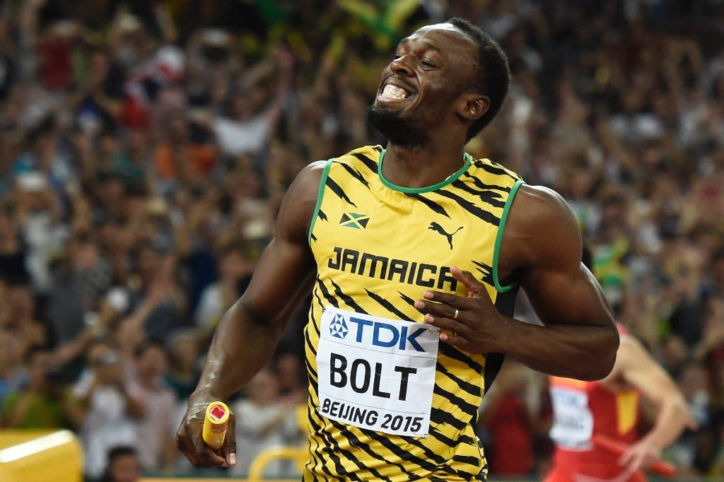 Jamaica's Usain Bolt holds the 100m world record -- 9.58 seconds (AFP Photo/Franck Fife)