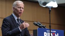 Joe Biden unveils foreign policy plan during speech in New York