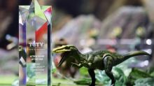 "Mattel Wins ""Toy Of The Year"" Award For Jurassic World™ Dinosaur Line In The Action Figure Category"