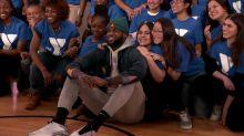 LeBron James Helps Lyft Promote Bike Share Program