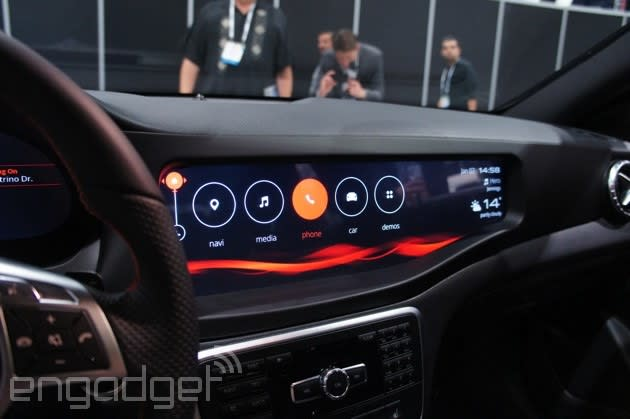 Mercedes-Benz CLA45 AMG with QNX CAR for Infotainment hands-on