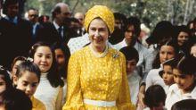 Cuando la Reina Isabel II de Inglaterra visitó México por primera vez en 1972