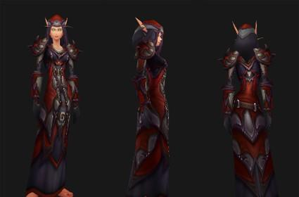 Outland reputation set- Warlock: Dreadweave Battlegear