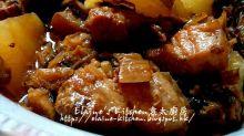 梅菜白蘿蔔炆豬腩肉