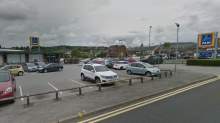 'Human remains including skull and shoulder blade' discovered in Aldi car park