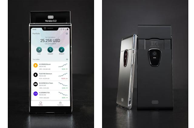 Sirin Labs' $1,000 cryptocurrency phone arrives this November