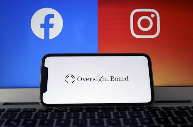 Facebook's Oversight Board will consider appeals to remove content