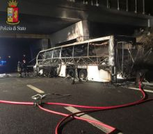 Sixteen dead, many Hungarian teenagers, in Italy bus accident: police