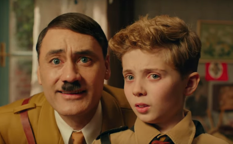 'Jojo Rabbit' star Scarlett Johansson on the 'terrifying' experience being directed by man dressed as Hitler