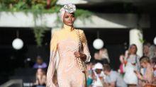Halima Aden veröffentlicht Gesichtsmasken-Sets für Hijabis