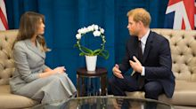 Social media thinks Prince Harry was sending Melania Trump a pretty sinister message