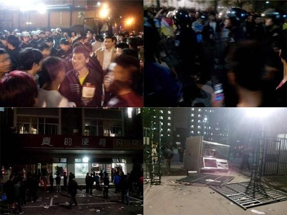 Riot breaks out at Foxconn's Taiyuan plant, reportedly over guards beating up a worker (update: confirmed)