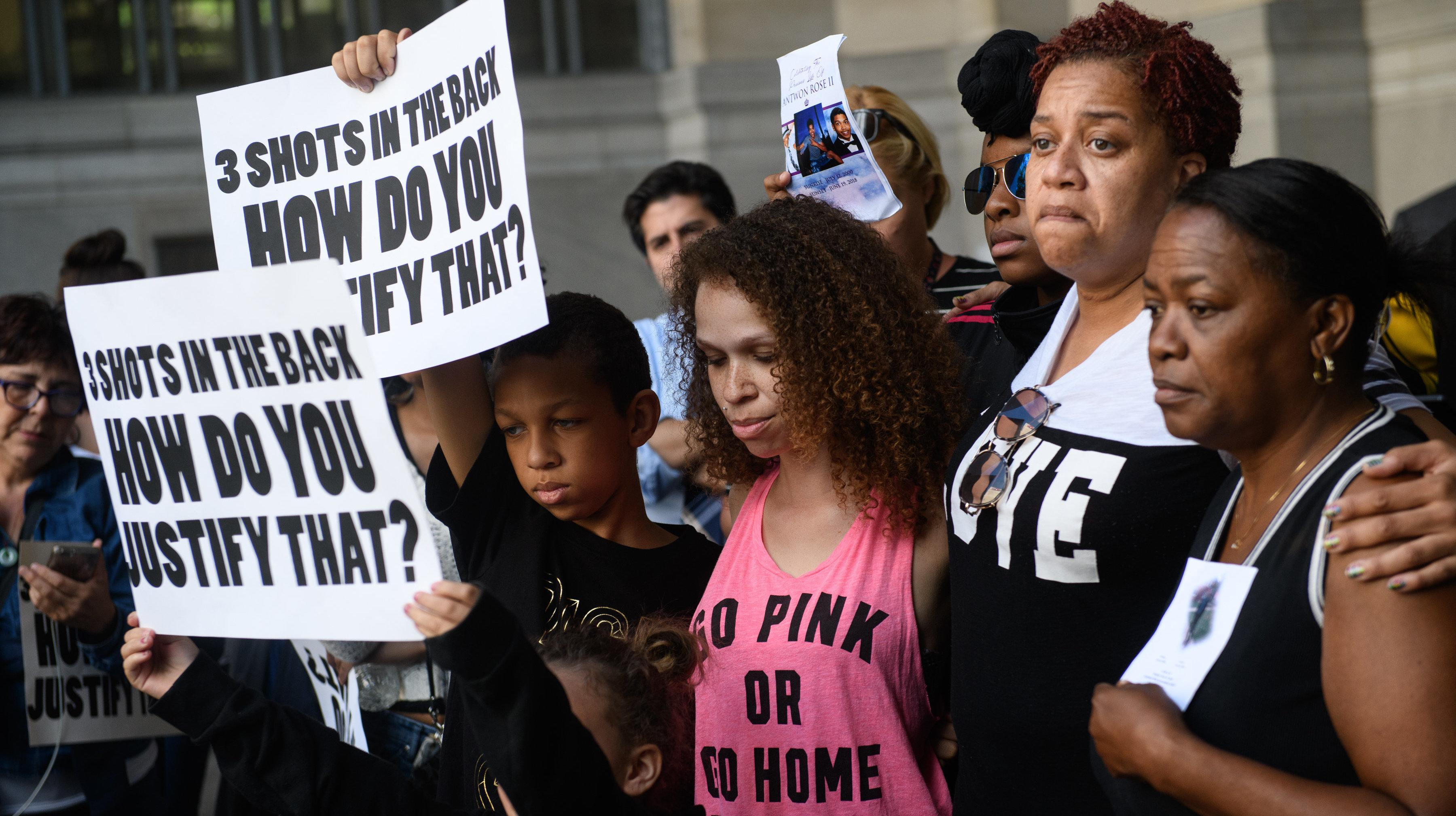 Protesters Block Expressway After Officer Who Shot Antwon Rose Granted Bail