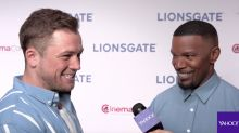 Rock 'n' roll 'Robin Hood': Taron Egerton and Jamie Foxx describe new take on classic hero as first trailer arrives