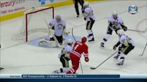 Sekera scores in final seconds of 1st period