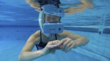 Swimming with dolphins in virtual reality to aid disabled