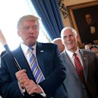 Mike Pence Insists Trump Didn't Downplay Virus, Contradicting Trump's Own Words