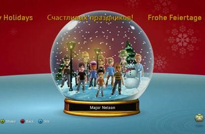 Drown your Xbox Live friends with holiday spirit