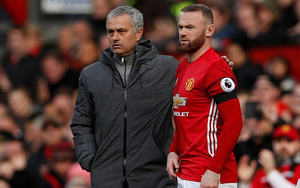 Jose Mourinho has not decided whether to include Wayne Rooney in his Europa League squad for Thursday's match against Anderlecht despite the captain being fit - REUTERS
