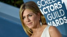 Jennifer Aniston shares face covering selfie urging fans to 'wear a damn mask' amid coronavirus pandemic