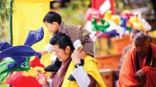 The Bhutanese Royals Release a Sweet Photo of Their Young Princes