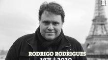 Luto! Apresentador do SporTV Rodrigo Rodrigues morre aos 45 anos