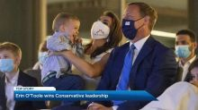 Erin O'Toole elected as new Conservative leader