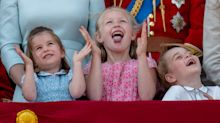 Prince George and Princess Charlotte steal the spotlight (once again) at Trooping the Colour 2018