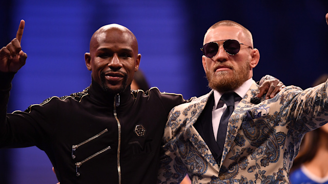 McGregor has a place in Mayweather's mansion