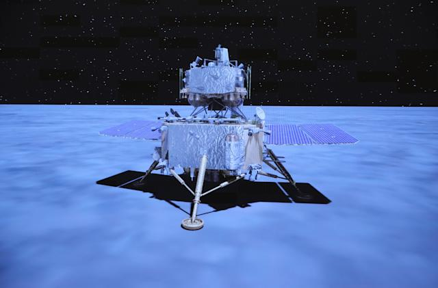 China Moon probe starts return to Earth with lunar samples