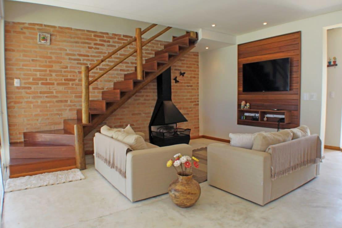 21 ideas para decorar tu salón con un estilo rústico ¡renovado!