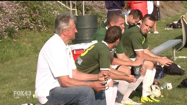 Soccer Teams Play Charity Game For Newtown Families