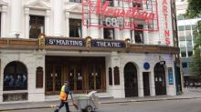 The Mousetrap indefinitely postpones plans to reopen in London's West End