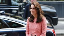 Duchess of Cambridge Turns Heads In Vintage-Inspired Two Piece